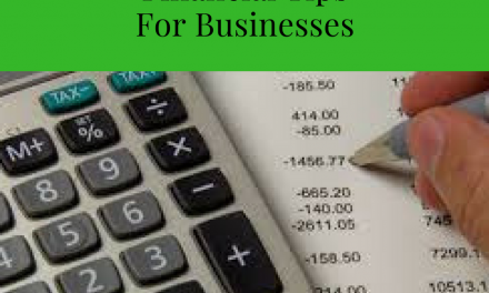 Financial Tips for Businesses #1