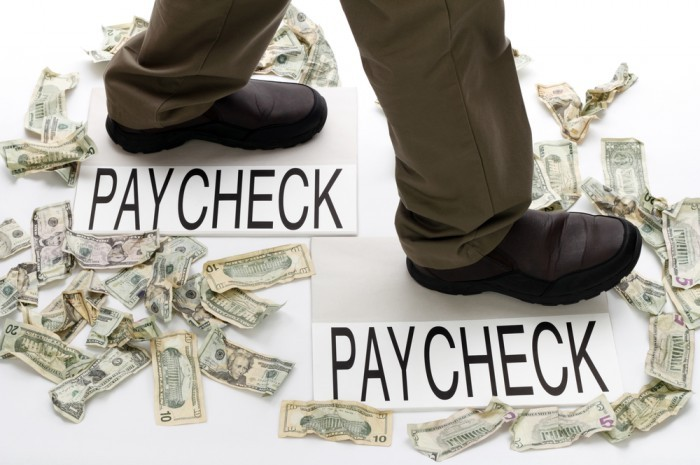 Are you living from paycheck to paycheck?