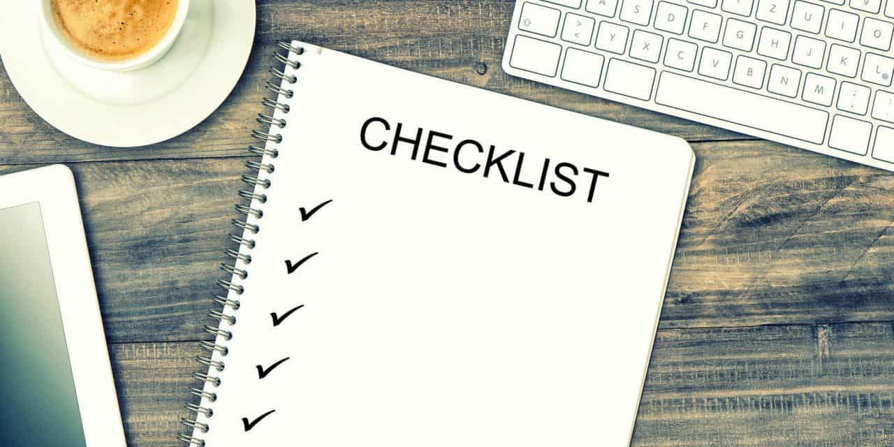 Financial Checklist for Businesses