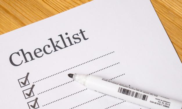 Personal Finances: Your Checklist