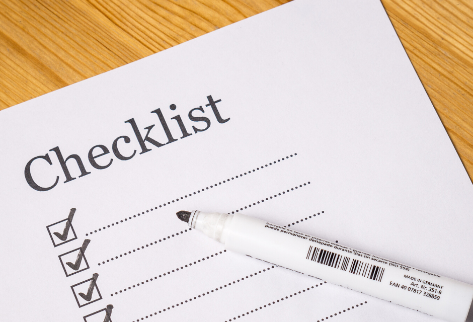 Personal Finances: Your Checklist